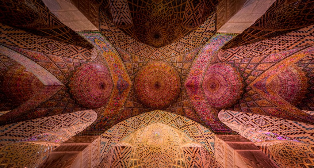 ceiling of Nasir al-Mulk