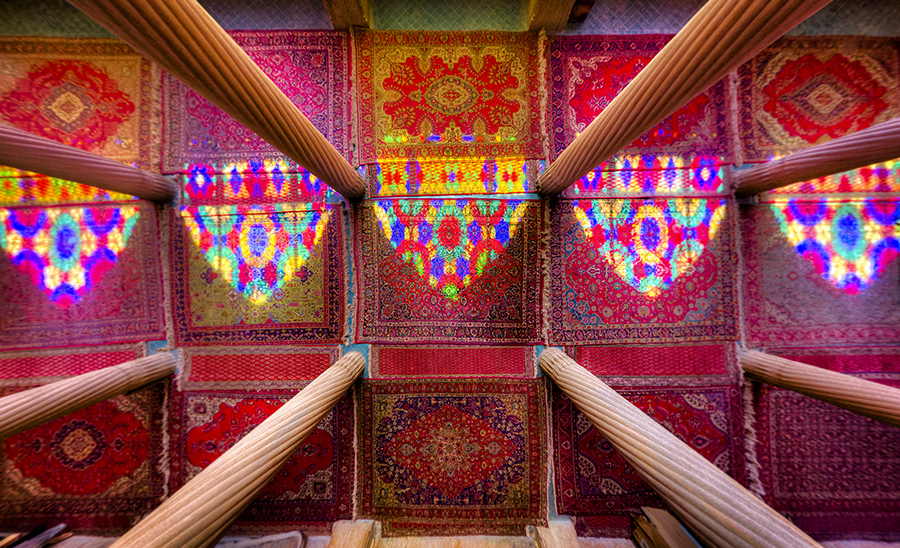 Nasir-Al-Mulk Mosque in Shiraz – Mohammad Reza Domiri Ganji